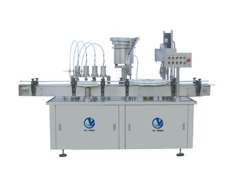 浙江XHG-4 四泵灌装轧盖机